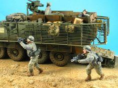 Modelismo y diorama militar a escala 1/35