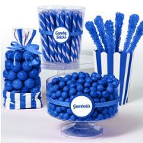 46 best blue candy buffet images candy buffet candy table rh pinterest com