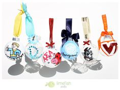 Custom Hand-Painted Christmas Ornaments with Bulk Order Savings  *place orders early ;) By LIMEFISHSHOP on Etsy