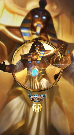 Wallpaper Phone Roger Anubis by FachriFHR on DeviantArt Wallpaper Images Hd, Cool Wallpaper, Wallpapers, Miya Mobile Legends, Legend Games, Mobile Legend Wallpaper, The Legend Of Heroes, Making Money On Youtube, Pvp