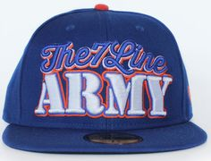 Army 59Fifty Fitted Cap by THE 7 LINE x NEW ERA