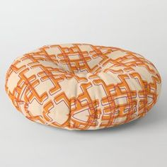 Afo Mid Century Modern Pattern Floor Pillow