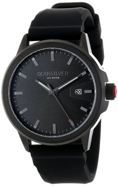 quiksilver admiral canvas watch mens surf style quiksilver men s m168js blk kombat analog watch 130 00 quiksilver