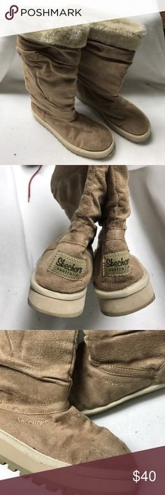 Skechers Australia tall boots, tan, sz 8 Skechers Australia tall boots, sz 8, tan, in nice condition. Skechers Australia Shoes