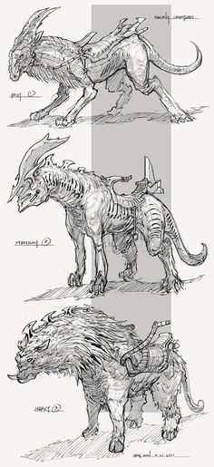 Feng Zhu Design: #Creature #Designs