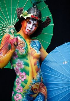 Oriental body art...I'll have some zen please! #sapphicscribes Spirited Sapphire Publishing