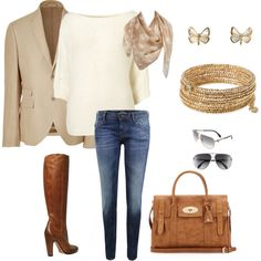 i have the jacket and the jeans. all i need is the rest of this wonderful outfit
