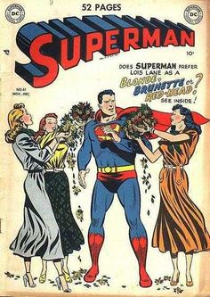 Superman #61 -The Courtship of the Three Lois Lanes
