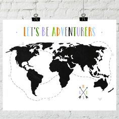 Free Art Printables for Gallery Walls (Remodelaholic) Free Poster Printables, Free Printable Art, Printable Coloring Sheets, Free Art Prints, Inspiration For Kids, Wall Collage, Let It Be, Adventure, Scrapbooking
