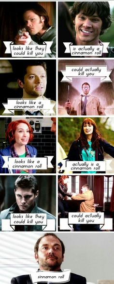 Supernatural in terms of cinnamon rolls.