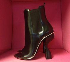Balenciaga Blade Low Boots Black, Kim Kardashian, purchase at theCIRCEeffect.com