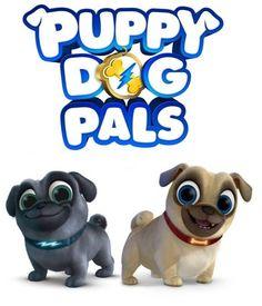 $2.99 - Puppy Dog Pals Bingo And Rolly T-Shirt Iron On Transfer #ebay #Home & Garden
