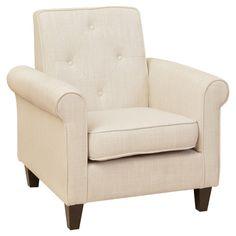 Home Loft Concept Marshall Tufted Fabric Club Chair