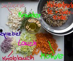 Minestrone Hülsenfrüchte Zutaten