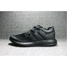 newest abc61 86562 adidas Y-3 Pure Boost Triple Svarta BY8958 Herr Skor Rea Pure Boost, Boost