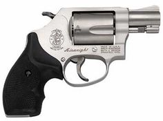 The Smith & Wesson J-Frame has become the most popular small frame personal defense revolver on the market. With decades of reliable performance to its credit, this J-frame line offers models capa Pistol For Women, Handgun For Women, Pink Lady, Rifles, Best Handguns, Pink Guns, Smith N Wesson, Guns And Ammo, Weapons Guns