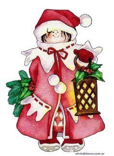 CHRISTMAS LITTLE GIRL CLIP ART