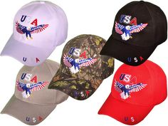 separation shoes 0c8e6 146bf Show off your patriotic side with this red, white, and blue baseball cap.