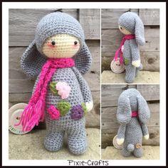 Pixie-Crafts • Hello! Today's make is a mini Rita Rabbit! She...