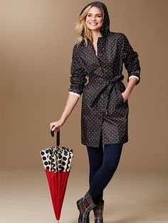 Rain, rain, don't go away...We love looking extra chic on cloudy days!