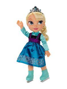 Disney Frozen Elsa Ice Skating Toddler Doll