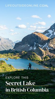 Adventure Time, Adventure Travel, Alpine Lake, Best Kept Secret, Canadian Rockies, Canada Travel, British Columbia, Wilderness, Backpacking