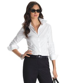 Non-Iron Tailored Fit Dress Shirt with XLA - Brooks Brothers