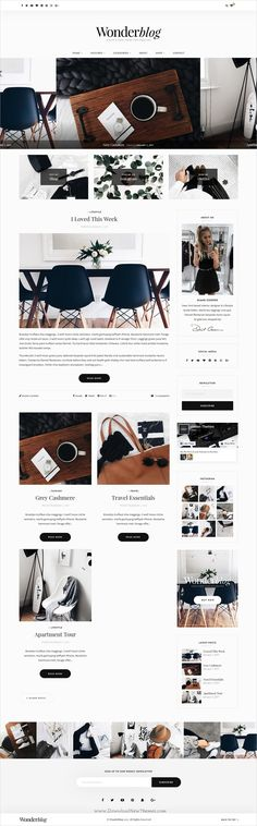 Wonderblog is ultra professional, smooth and sleek responsive #WordPress blog theme for creative #writer and #blogger websites with multiple homepage layouts download now➩ https://themeforest.net/item/wonderblog-a-responsive-wordpress-blog-shop-theme/19287284?ref=Datasata
