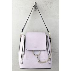 0105f30b48a9 Melie Bianco Brooklyn Lavender Backpack ( 95) ❤ liked on Polyvore featuring  bags