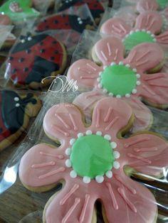 Cookies para festa jardim.