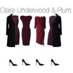 Claire Underwood & Plum