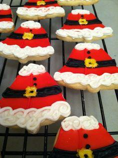 Christmas Cookies SANTA BELLIES