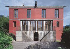Peter Märkli    Haus Kuehnis, Two single family houses,Trübbach/Azmoos    1982