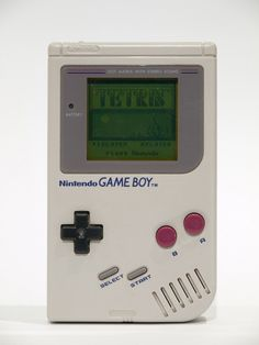 Nintendo Game Boy ~ my brother had one and I would play Tetris on it for hours! And no, it's just not the same on my iPhone. Game Boy, 90s Childhood, My Childhood Memories, Sweet Memories, 80s Kids, Ol Days, My Memory, Nintendo Games, Vintage Toys