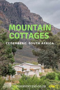 Untamed and craggy, the Cederberg Wilderness Area is just north of Cape Town – a perfect short break that feels a million miles from city life. We in CapeNature's new cottages at Algeria. African Vacation, Camping In Tennessee, Acadia National Park Camping, All About Africa, Mountain Cottage, Hiking Photography, Kruger National Park, National Parks, Off Road Adventure