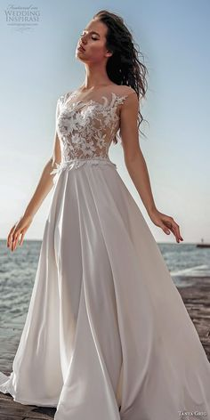 Tanya Grig 2020 Wedding Dresses Dancing on Air Bridal Collection Wedding Dress Types, Perfect Wedding Dress, Bridal Wedding Dresses, Dream Wedding Dresses, Dance Dresses, Beautiful Gowns, Bridal Collection, Marie, Ball Gowns