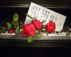 Risultati immagini per martina yeon paintings Art Floral, Classy Photography, Rose Music, Luxury Flowers, Music Pictures, Digital Art Girl, Beautiful Drawings, Easy Paintings, Art Music