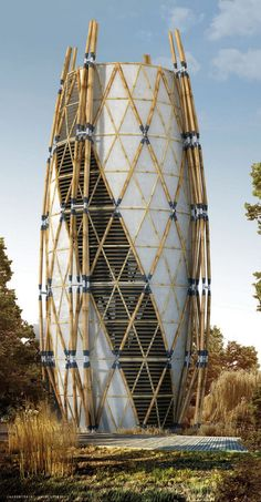LOUVERED FACADE diagrid - Google Search