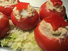TOMATES RELLENOS 2 | Cocinar en casa es facilisimo.com