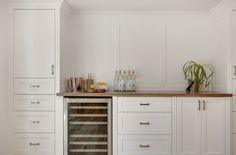 Lakeview Village {renovation} Kitchen Hutch by Veranda Estate Homes Inc.