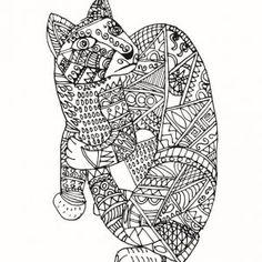 Downloadable Coloring Page Mexican Alebrije | mexican art ...
