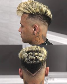 Great looking hair. Creative ideas for fantastic looking hair. Your hair is usually exactly what can easily define you as an individual. To most people today it is usually vital to have a good hair do. Hairstyles Haircuts, Haircuts For Men, Neymar Jr Hairstyle, Hair And Beard Styles, Short Hair Styles, New Hair, Your Hair, Boys Haircut Styles, Haircut Designs