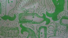Vintage Lilly Pulitzer Fabric: Thar She Blows by Zuzek (whales nautical) Key West Hand Prints, Inc. on Etsy, $18.99