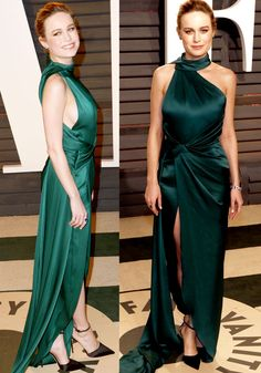 Brie looked stunning in an emerald green creation by Ralph & Russo