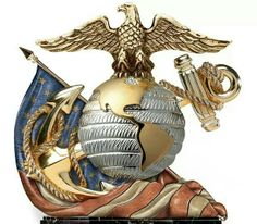 Shop great selection of US Marine Corps collectibles at The Bradford Exchange. Shop securely online with an unconditional guarantee. Marine Love, Once A Marine, Marine Quotes, Indiana, Military Life, Military Ranks, Military Humor, Military Veterans, Us Marine Corps