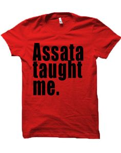 Amazingly soft tee, guaranteed to become your favorite. These are unisexandladies order one size down. Please check the size chartas they can not be exchanged for size.Celebrating our own trail blazers, activists, entertainers,