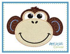 Monkey Quilting Design