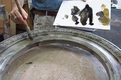 Pierre Finkelstein Distressed Stone Frames Second Glaze