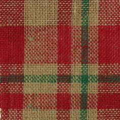 "Brand New Plaid Burlap 60"" Wide 100% Jute 15yd D/R-Red, Green, Natural Plaid Things for You http://www.amazon.com/dp/B00J0LO3DU/ref=cm_sw_r_pi_dp_3LUpvb18Z5HWG"