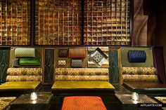 Salvage Bar & Lounge located in the heart of the Financial District in Downtown Los Angeles, on the Seventh Street Retail Corridor, sits Salvage Bar & Lounge. Lounge Design, Bar Lounge, Cafe Bar, Retail, Restaurant, Interior, Hospitality, Furniture, Sofa